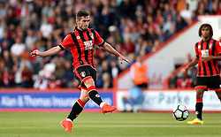 Lewis Cook of Bournemouth shoots at goal - Mandatory by-line: Robbie Stephenson/JMP - 03/08/2016 - FOOTBALL - Vitality Stadium - Bournemouth, England - AFC Bournemouth v Valencia - Pre-season friendly