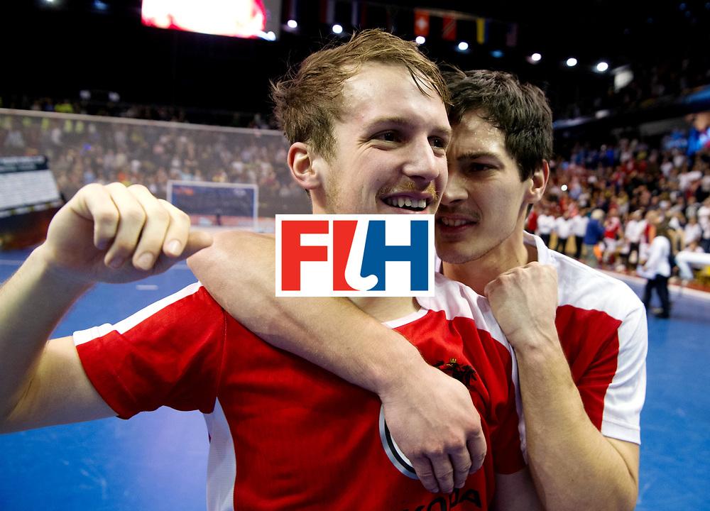 BERLIN - Indoor Hockey World Cup<br /> Final: Germany - Austria<br /> Austria wins the world championship.<br /> foto: <br /> WORLDSPORTPICS COPYRIGHT FRANK UIJLENBROEK