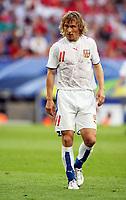 Photo: Chris Ratcliffe.<br /> USA v Czech Republic. Group E, FIFA World Cup 2006. 12/06/2006.<br /> A sweaty Pavel Nedved of Czech Republic.