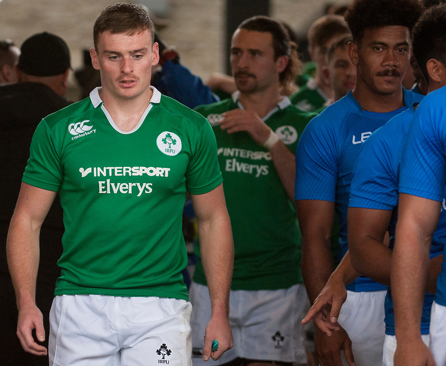 Ireland play Samoa at the Silicon Valley Sevens in San Jose, California. November 4, 2017. <br /> <br /> By Jack Megaw.<br /> <br /> IREWSM<br /> <br /> <br /> <br /> www.jackmegaw.com<br /> <br /> jack@jackmegaw.com<br /> @jackmegawphoto<br /> [US] +1 610.764.3094<br /> [UK] +44 07481 764811