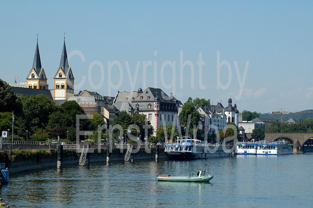 Koblenz, an der Mosel
