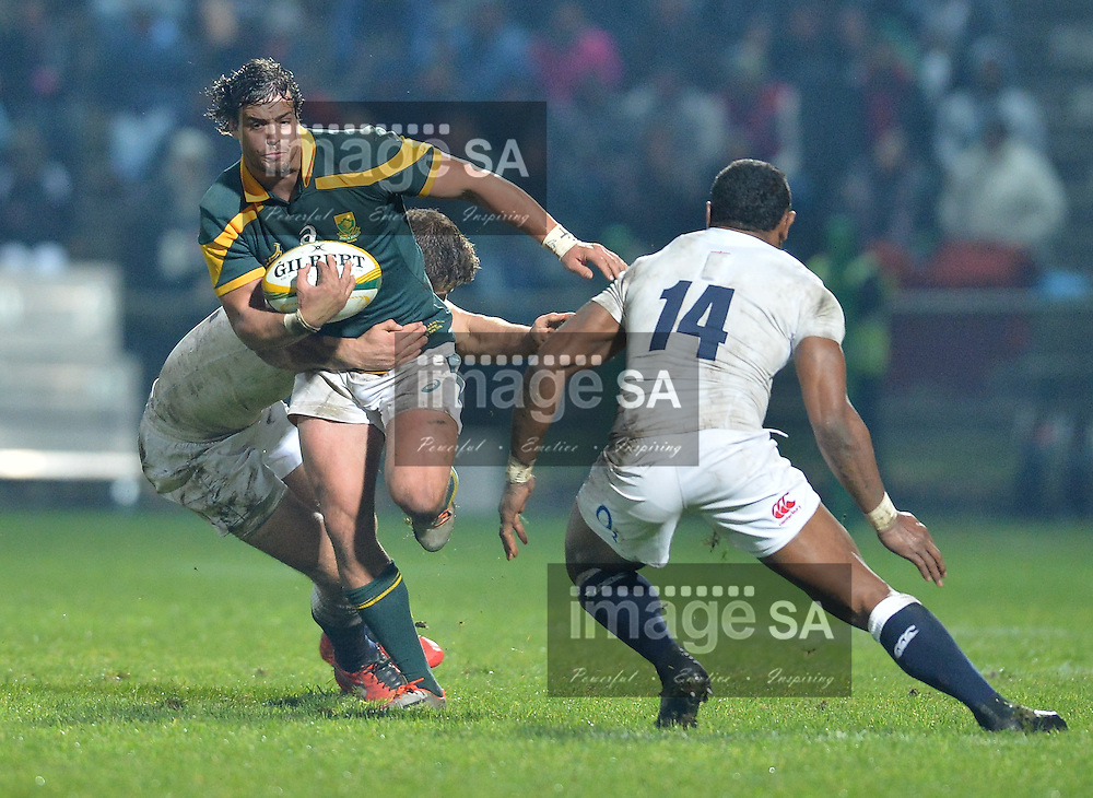 GEORGE, SOUTH AFRICA - JUNE 17: Francois Venter of South Africa during the match between South Africa 'A' and England Saxons at Outeniqua Park on June 17 2016 in George, South Africa. (Photo by Roger Sedres/Gallo Images)