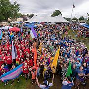 Portsmouth Pride at Strawbery Banke June 2018