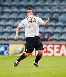 Falkirk's Thomas Scobie..Raith Rovers 1 v 0 Falkirk, 6th August 2011..©Pic : Michael Schofield.