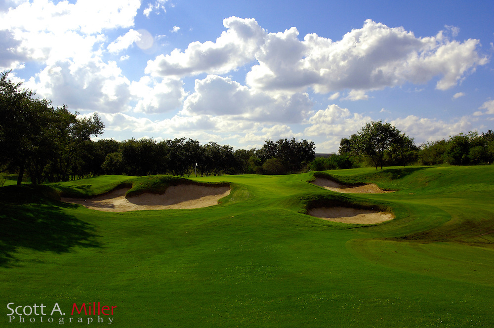 September 7, 2007, San Antonio, Texas; Hole No. 10 at the Briggs Ranch Golf CLub...                ©2007 Scott A. Miller