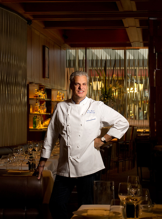 Chef Eric Ripert Portraits of top chefs, renowned restaurants, tastes and nightlife in New York City