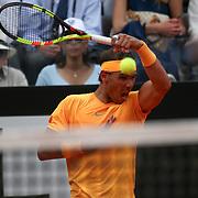 Roma 18/05/2018 Foro Italico <br /> Internazionali BNL d'Italia 2018<br /> singolare maschile <br /> Rafael Nadal nell'incontro vinto con Fabio Fognini