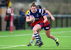 Florence Long of Bristol Bears Women in action- Mandatory by-line: Nizaam Jones/JMP - 23/03/2019 - RUGBY - Shaftesbury Park - Bristol, England - Bristol Bears Women v Richmond Women- Tyrrells Premier 15s