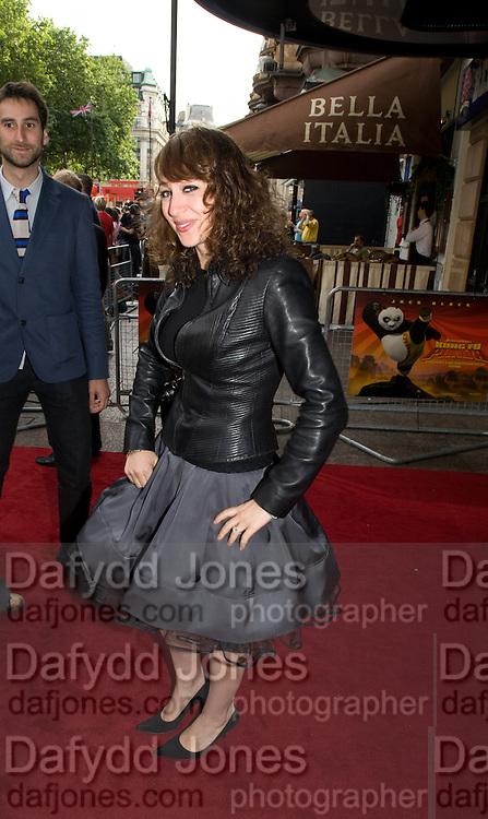 SARAH MORRIS,  Film premiere of Kung Fu Panda. Vue West End. Leicester Sq. London. 26 June 2008.  *** Local Caption *** -DO NOT ARCHIVE-© Copyright Photograph by Dafydd Jones. 248 Clapham Rd. London SW9 0PZ. Tel 0207 820 0771. www.dafjones.com.