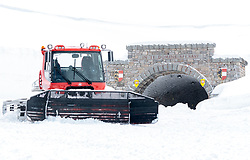 02.05.2017, Hochtor, Fusch an der Glocknerstrasse, AUT, Schneeraeumung auf der Grossglockner Hochalpenstrasse, im Bild ein Pistenbully vor dem Hochtor // a Pistenbully Snowcat during the yearly snow removal of the Grossglockner High Alpine Road before the Season Opening at the Hochtor, Fusch, Austria on 2017/05/02. EXPA Pictures © 2017, PhotoCredit: EXPA/ JFK