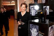 JAN FLETCHER, The Veuve Clicquot Businesswoman of the Year  Award. Claridge's, London.  March 28 2011. ,-DO NOT ARCHIVE-© Copyright Photograph by Dafydd Jones. 248 Clapham Rd. London SW9 0PZ. Tel 0207 820 0771. www.dafjones.com.