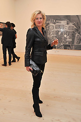 ALISON JACKSON at a private view of Confessions of Dangerous Minds - Contemporary Art From Turkey, hosted by Phillips de Pury at The Saatchi Gallery, Duke of York Square, London on 18th April 2011.