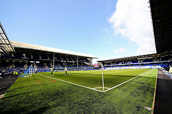 A general view of Goodison Park as the sun shines ahead of the Barclays Premier League fixture between Everton and Southampton - Photo mandatory by-line: Matt McNulty/JMP - Mobile: 07966 386802 - 04/04/2015 - SPORT - Football - Liverpool - Goodison Park - Everton v Southampton - Barclays Premier League