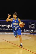 DESCRIZIONE : Pomezia Nazionale Italia Donne Torneo Citt&agrave; di Pomezia Italia Olanda<br /> GIOCATORE : marie d alie<br /> CATEGORIA : palleggio<br /> SQUADRA : Italia Nazionale Donne Femminile<br /> EVENTO : Torneo Citt&agrave; di Pomezia<br /> GARA : Italia Olanda<br /> DATA : 26/05/2012 <br /> SPORT : Pallacanestro<br /> AUTORE : Agenzia Ciamillo-Castoria/GiulioCiamillo<br /> Galleria : FIP Nazionali 2012<br /> Fotonotizia : Pomezia Nazionale Italia Donne Torneo Citt&agrave; di Pomezia Italia Olanda