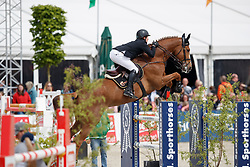 DUFFY Michael G (IRL), Ugo de la Tour Vidal<br /> Hagen - Horses and Dreams meets the Royal Kingdom of Jordan 2018<br /> Finale Mittlere Tour<br /> 29. April 2018<br /> www.sportfotos-lafrentz.de/Stefan Lafrentz