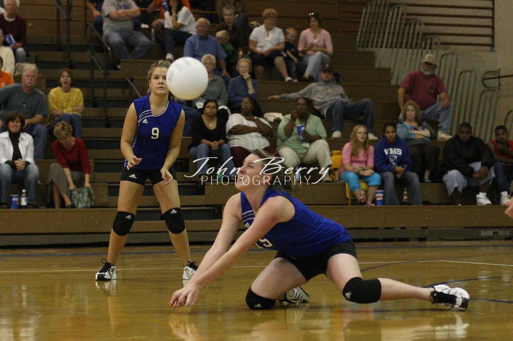MCHS Varsity Volleyball .vs Strasburg.10/16/2007..