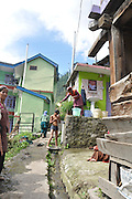 India, Himachal Pradesh, khirganga hot springs, Parvati valley