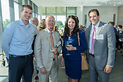 Scott Groan, Brian Waltrip and Lisa and Doug Butcher at the 10-year anniversary celebration of Republic Bank's Private Banking and Business Banking divisions Wednesday, May 17, 2017, at the Speed Art Museum in Louisville, Ky. (Photo by Brian Bohannon)