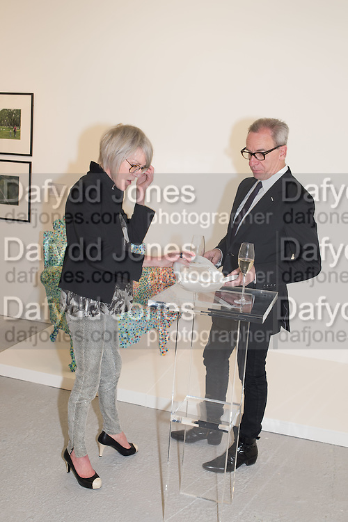 SUZANNE TROCME; MICHAEL JANKOWSK, TIME FOR DESIGN, Design Museum benefit. Phillips building, Berkeley Sq. London. 21 April 2016