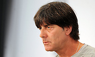 Germany head coach Joachim Low speaks at a press conference at Stadio Communale, Ascona<br /> Picture by EXPA Pictures/Focus Images Ltd 07814482222<br /> 31/05/2016<br /> ***UK &amp; IRELAND ONLY***<br /> EXPA-EIB-160531-0015.jpg