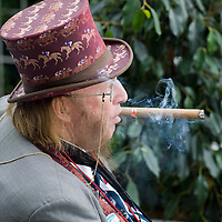 ASCOT, ENGLAND - JUNE 20: Channel 4 Racing pundit John McCririck at the fifth and final day of Royal Week  at Ascot Racecourse on June 20, 2009 in Ascot, England  (Photo by Marco Secchi/Getty Images)