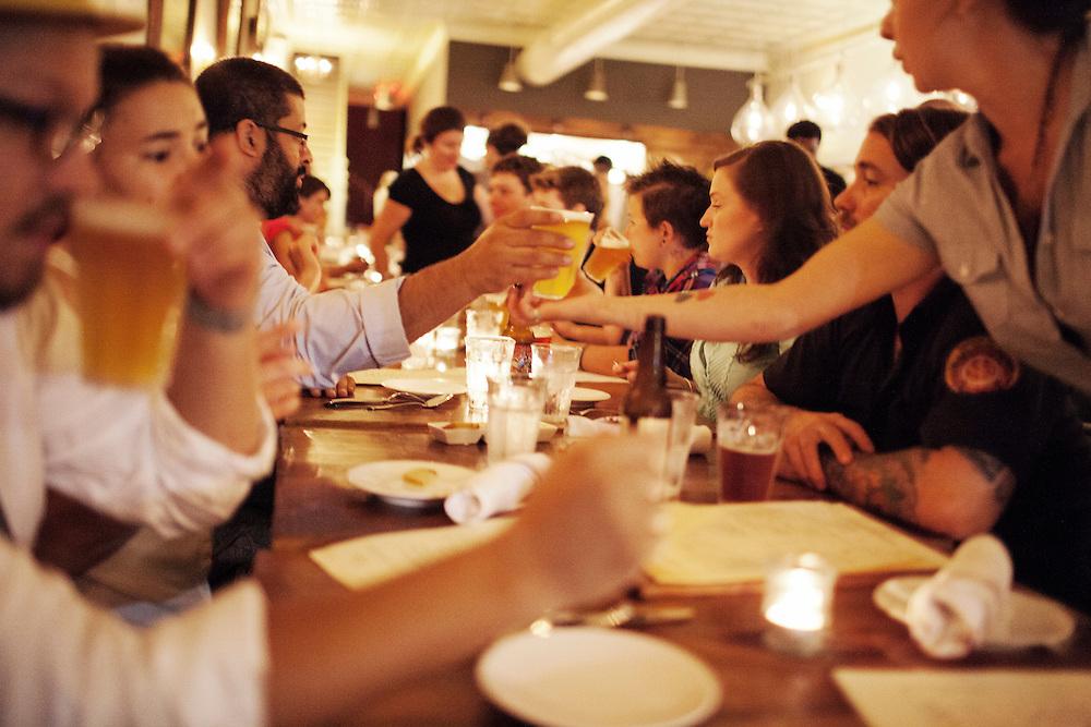 Opening night of Mateo Tapas Bar, Durham, NC, Sunday, August 5, 2012.