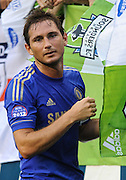 July 18, 2012: CenturyLink Field, Seattle, WA: Chelsea FC Frank Lampard during the World Football Challenge. Chelsea FC defeated the Seattle Sounders 4-2.