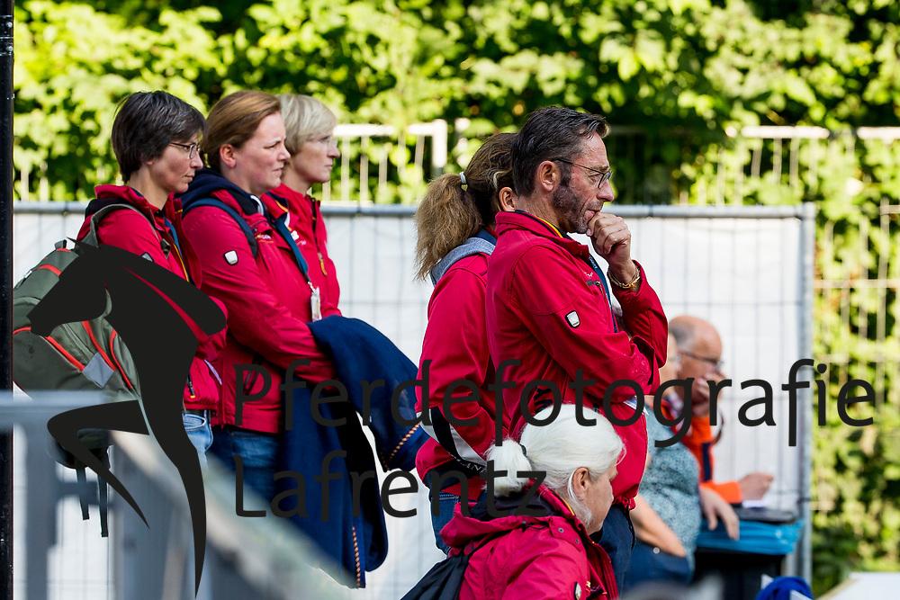 Fliegl Bernhard (Bundestrainer Para-Dressur)<br /> Rotterdam - Europameisterschaft Dressur, Springen und Para-Dressur 2019<br /> Longines FEI Para-Dressage European Championship Team test Grade 5<br /> Teamwertung Grade V<br /> 24. August 2019<br /> © www.sportfotos-lafrentz.de/Sharon Vandeput