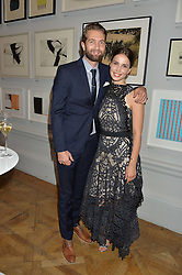 SAM RITZENBERG and HEIDA REED at the Royal Academy of Arts Summer Exhibition Preview Party at The Royal Academy of Arts, Burlington House, Piccadilly, London on 7th June 2016.