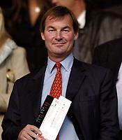 Photo: Richard Lane.<br />Southampton v Bolton Wanderers. FA Barclays Premiership. 25/08/2004.<br />Southampton chairman, Rupert Lowe