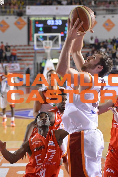 DESCRIZIONE : Roma Lega A 2012-13 Acea Roma EA7 Emporio Armani Milano<br /> GIOCATORE : Aleksander Czyz<br /> CATEGORIA : tiro<br /> SQUADRA : Acea Roma<br /> EVENTO : Campionato Lega A 2012-2013 <br /> GARA :  Acea Roma EA7 Emporio Armani Milano<br /> DATA : 17/02/2013<br /> SPORT : Pallacanestro <br /> AUTORE : Agenzia Ciamillo-Castoria/GiulioCiamillo<br /> Galleria : Lega Basket A 2012-2013  <br /> Fotonotizia : Roma Lega A 2012-13 Acea Roma EA7 Emporio Armani Milano<br /> Predefinita :