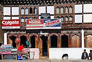 Shop front, Paro, Bhutan