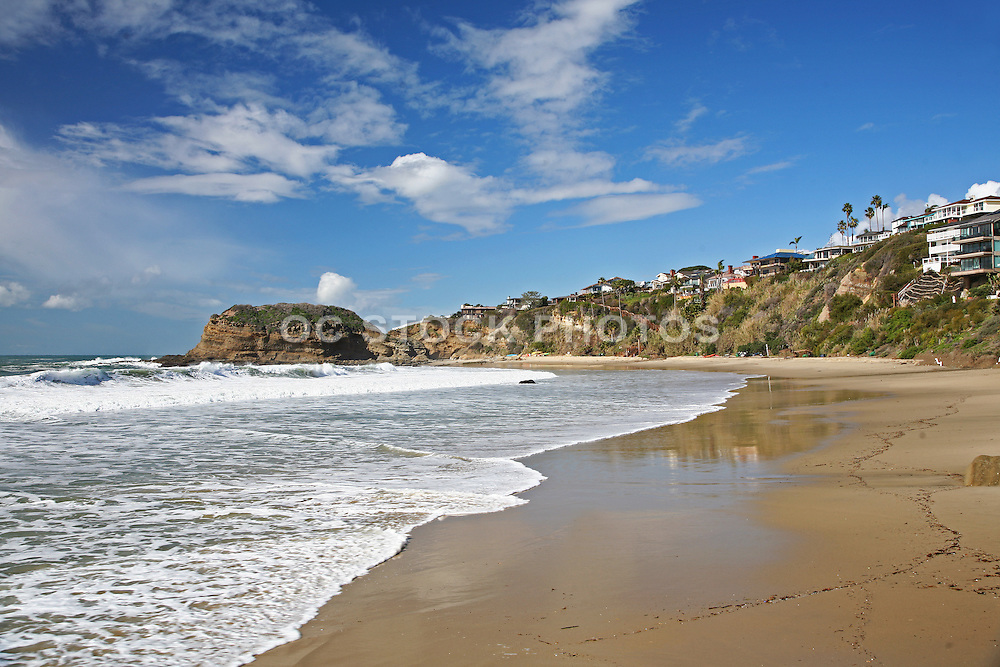 Private Beach at Three Arch Bay Laguna Beach California