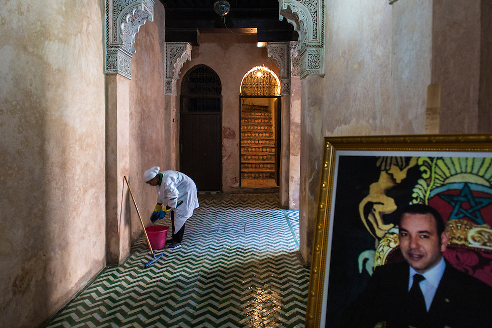 Inside the ancient Medinah of Meknes