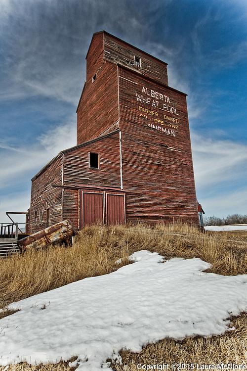Kingman Grain Elevator, Alberta Canada