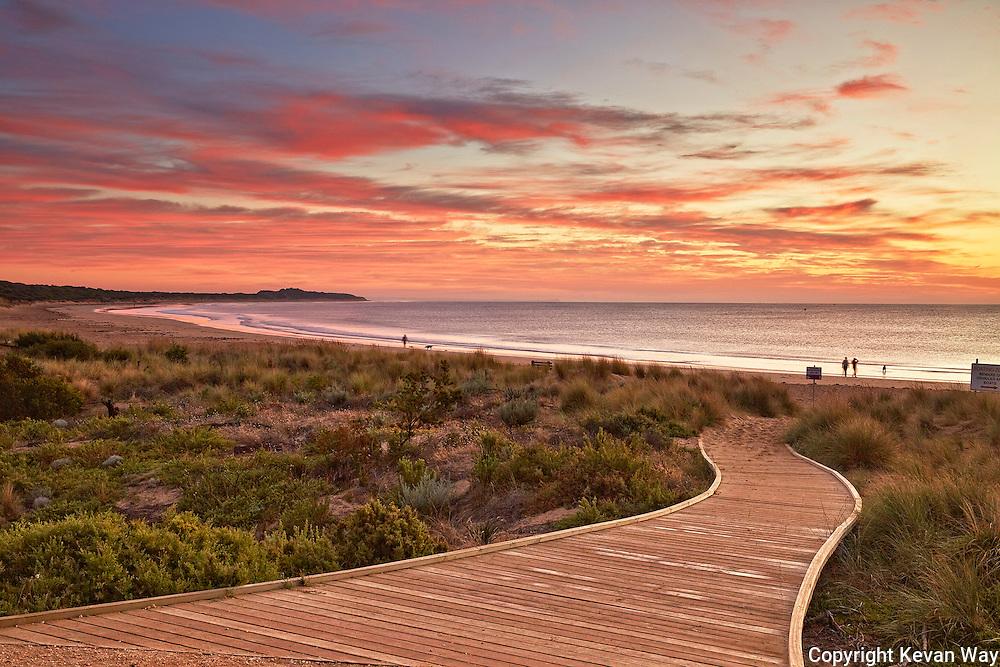 Fishermans Beach at sunrise