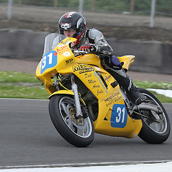 Brad Vickers from Tadcaster in action at the the annual visit to Knockhill of the North East MCRC Championship round. STEPHEN LAWSON|STOCKPIX