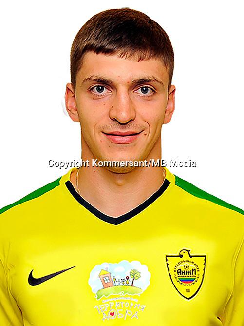 Portraits, FC Anzhi Makhachkala, August 2016