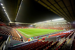 A general view of Anfield ahead of the Barclays Premier League clash between Liverpool and Tottenham Hotspur - Photo mandatory by-line: Matt McNulty/JMP - Mobile: 07966 386802 - 10/02/2015 - SPORT - Football - Liverpool - Anfield - Liverpool v Tottenham Hotspur - Barclays Premier League
