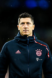Robert Lewandowski of Bayern Munich - Rogan/JMP - 01/10/2019 - FOOTBALL - Tottenham Hotspur Stadium - London, England - Tottenham Hotspur v Bayern Munich - UEFA Champions League Group B.