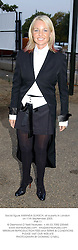 Social figure AMANDA ELIASCH, at a party in London on 11th September 2003.<br /> PMI 11