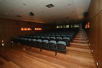 PORTO-12 DEZEMBRO:PRESS CONFERANCE ROOM (sala de comferncias de imprensa) do Est‡dio do Bessa, reconstruido para albergar a equipa da primeira liga Boavista F.C. e o EURO 2004 12-12-2003 <br />(PHOTO BY: AFCD/JOSƒ GAGEIRO)