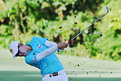 SINGAPORE, Jan. 17, 2019  Thailand's player Jazz Janewattananond competes during the first day of competition at the SMBC Singapore Open held in Singapore's Sentosa Golf Club on Jan 17, 2019. (Credit Image: © Then Chih Wey/Xinhua via ZUMA Wire)