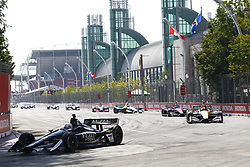 July 15, 2018 - Toronto, Ontario, Canada - SPENCER PIGOT (21) of the United State battles for position during the Honda Indy Toronto at Streets of Toronto in Toronto, Ontario. (Credit Image: © Justin R. Noe Asp Inc/ASP via ZUMA Wire)