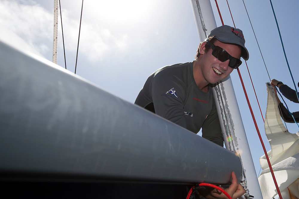 Phil Robertson. Argo Group Gold Cup 2010. Hamilton, Bermuda. 4 October 2010. Photo: Subzero Images/WMRT