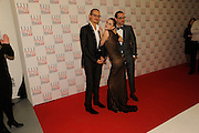 Viktor Horsting and Rolf Snoeren pose in the press room with the H&M Style Visionary Award presented by Anna Frie, The Elle Style Awards 2009, The Big Sky Studios, Caledonian Road. London. February 9 2009.