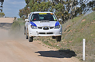 Brendan REEVES & Rhianon SMYTH - Subaru Impreza Sti.Heat 2.Rally South Australia.Barossa Valley, South Australia.2nd of August 2009.(C) Joel Strickland Photographics.Use information: This image is intended for Editorial use only (e.g. news or commentary, print or electronic). Any commercial or promotional use requires additional clearance.