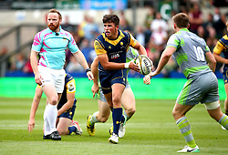 Will Butler of Worcester Warriors runs with the ball - Mandatory by-line: Robbie Stephenson/JMP - 29/07/2017 - RUGBY - Franklin's Gardens - Northampton, England - Worcester Warriors v Newcastle Falcons - Singha Premiership Rugby 7s