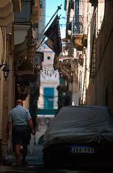 MALTA VALETTA JUL00 - Daily life scene from Old Valetta, Malta's capital. ......jre/Photo by Jiri Rezac....© Jiri Rezac 2000....Tel:   +44 (0) 7050 110 417..Email: info@jirirezac.com..Web:   www.jirirezac.com
