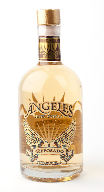Angeles de Oro reposado -- Image originally appeared in the Tequila Matchmaker: http://tequilamatchmaker.com